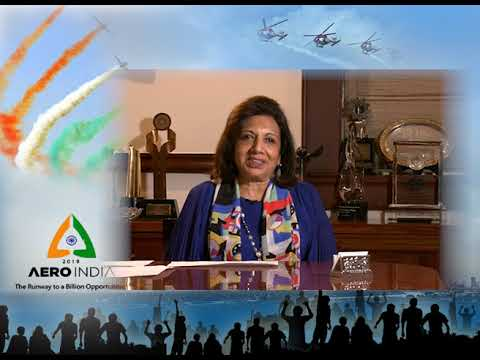 Biocon Chairperson Kiran Mazumdar-Shaw on Aero India 2019
