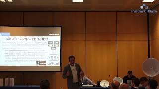 Demostración airFiber 5X - Ubiquiti Networks - Luis Ortega - Net Days 2016