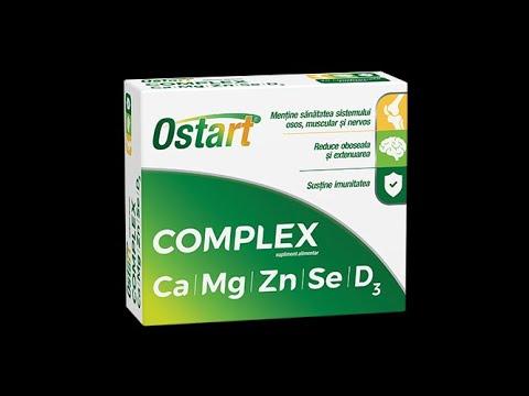 Pastile de tratament pentru osteochondroza unguente vitamine