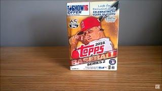 2016 Topps Series 2 Baseball MLB Blaster Box Break!