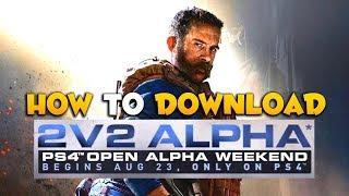 Get Access to the Modern Warfare 2v2 Gunfight Open Alpha