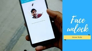 Face Recognition Setup & Performance ll Honor 9 Lite