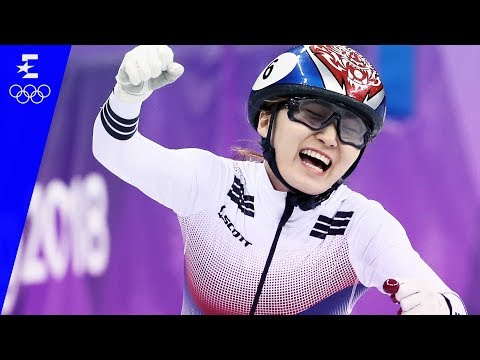 Short Track Speed Skating | Ladies' 1,500m Highlights | Pyeongchang 2018 | Eurosport