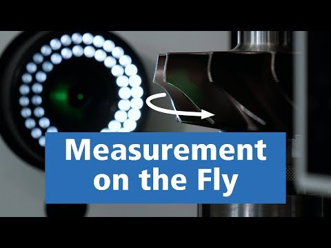 Quality assurance of cutting edges and impellers through high-speed measurement