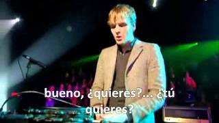 Franz Ferdinand - Do you want to (subtitulos en español)
