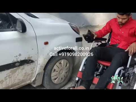Hero Mediva Power Wheelchair with Lithium Ion Battery