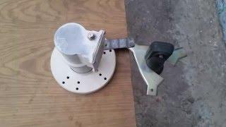 Как на спутниковую тарелку сделать крепление для дополнительной головки