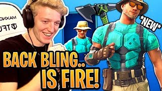Tfue BUYS & Reacts to *NEW* Marino Skin & Fresh Cut Pickaxe! - Fortnite Funny Moments