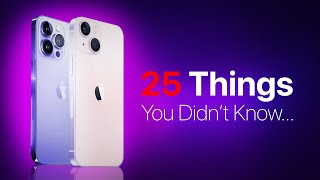 Apple iPhone 13 - 25 Things You Didn't Know!