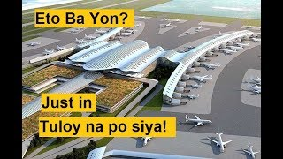 Proposed International Airport In Bulacan 6x bigger the size of NAIA
