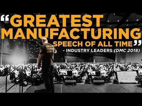 Titan Gilroy delivers Keynote at Defense Manufacturing Conference 2018
