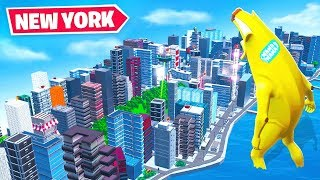 Look at this *TINY* NEW YORK in Fortnite