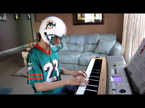 Strawberry Fields Forever intro by Jack in his Dolphins gear....what'a goofball!
