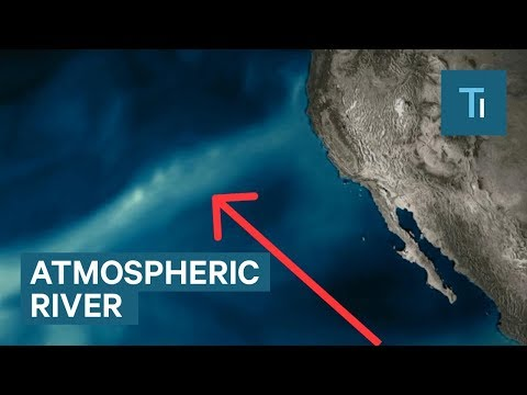An 'atmospheric river' is about to hit the west coast