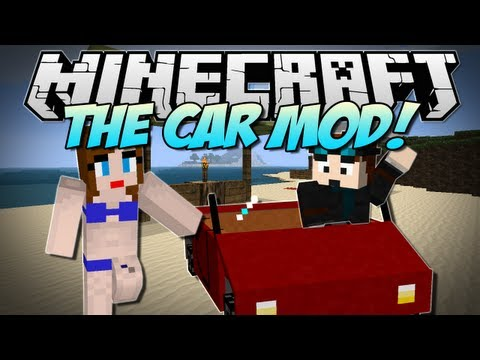 Minecraft | DRIVEABLE CARS! (Drive across your Minecraft land!) | Mod ...
