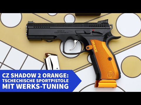 Test: CZ Shadow 2 Orange − Was kann das neue Top-Modell der Shadow 2-Sportpistolen?