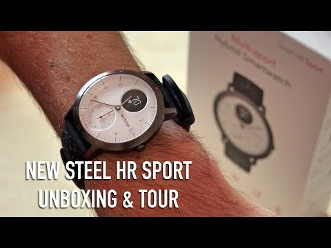 Withings Steel HR Sport Unboxing & Tour