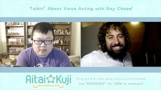 Talkin' About Voice Acting with Ray Chase