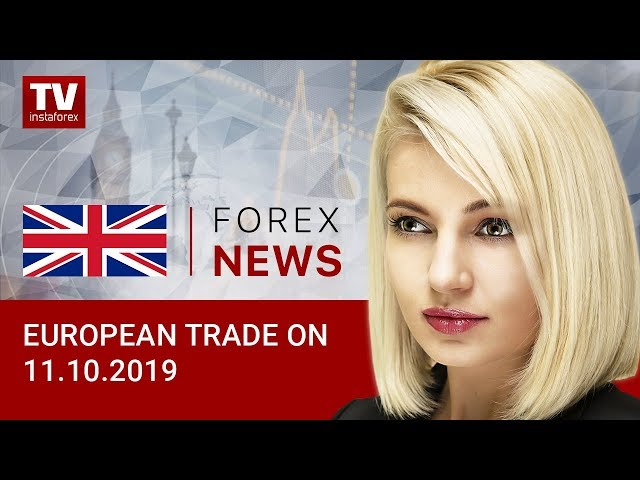 11.10.2019: EUR and GBP gain momentum (EUR, USD, GBP)