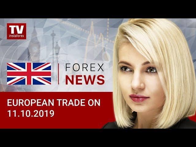 11.10.2019: EUR and GBP gain momentum (EUR, USD, GBP)