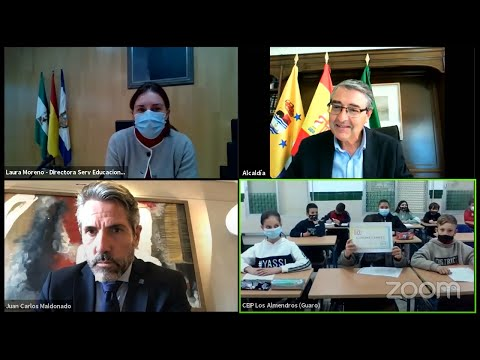 Pleno Infantil de la Diputación de Málaga