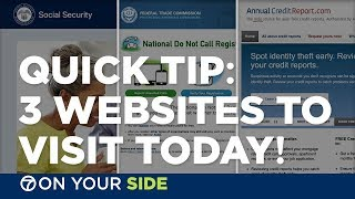 QUICK TIP: 3 government websites to visit today!
