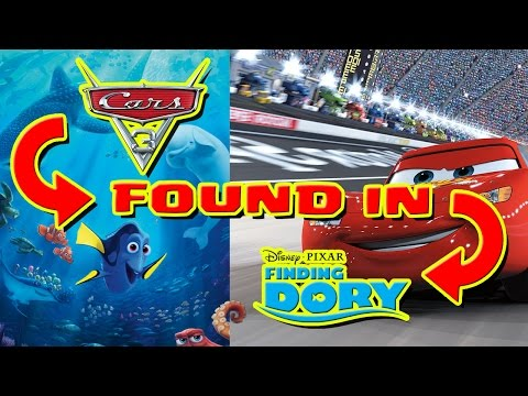 Cars 3 Easter Egg Found & More Easter Eggs Found In Finding Dory!