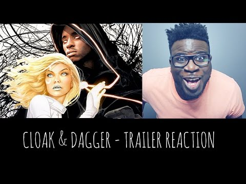 CLOAK AND DAGGER - TRAILER REACTION (MARVEL/FREEFORM TV SHOW)