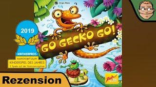 Go Gecko Go! (nominiert zum Kinderspiel des Jahres 2019) - Brettspiel - Review