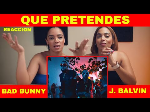[Reaccion] J. Balvin, Bad Bunny - QUE PRETENDES | Oasis Album | Just Vlogging | Dominivlog - DominiVlog