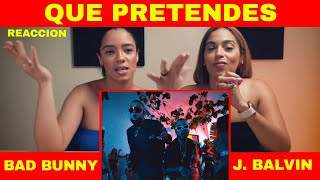 [Reaccion] J. Balvin, Bad Bunny   QUE PRETENDES | Oasis Album | Just Vlogging | Dominivlog