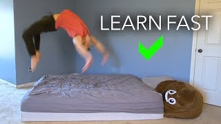 Learn How to: Back Handspring Easy