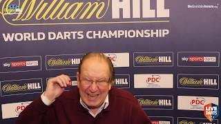 John Gwynne on covering Raymond van Barneveld's career, inc 2007 world final and PDC prime