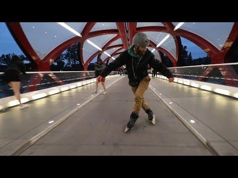SLYTHERIN on rollerblades