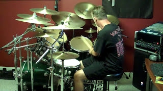 """Judas Priest """"Exciter"""" Drum Cover"""