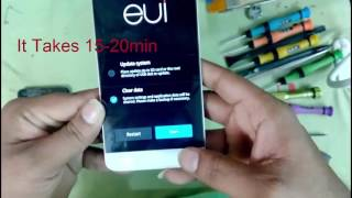 Letv 1S X507 Eazy Hard Reset And Pattern Reset Youtube