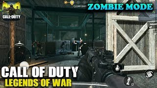 CALL OF DUTY MOBILE - ZOMBIE MODE GAMEPLAY (ANDROID / iOS)