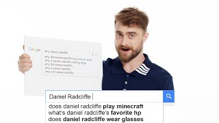 Daniel Radcliffe Answers MORE of the Web's Most Searched Questions | WIRED