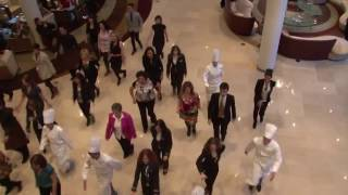 preview picture of video 'Flash Mob - Hilton Diagonal Mar Barcelona Hotel'