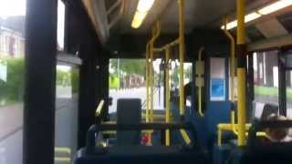 preview picture of video 'Arriva The Shires Plaxton Dennis MPD 3287 V287 HBH With Great Allison Gearbox'