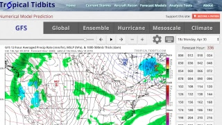 GSM NEWS- GLOBAL TEMPS COOLER IN APRIL THAN MARCH? 4 INCH HAIL!/ SEVERE WEATHER OUTBREAK!