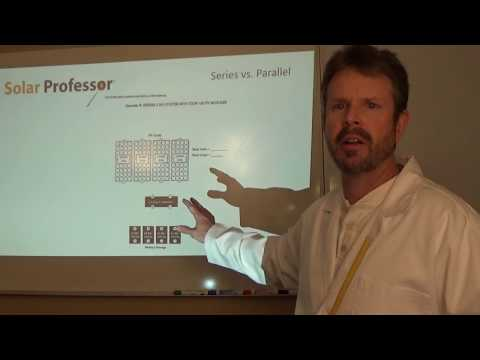 NABCEP - What You MUST Know - Series vs. Parallel* - YouTube