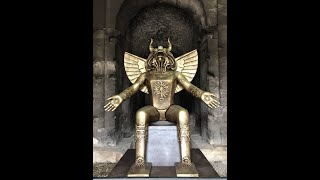 Vatican Approved: MOLECH Idol Displayed in Rome (2019)