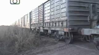 preview picture of video 'Tren de NCA con destino a Justiniano Posse en cercanías de Ticino'