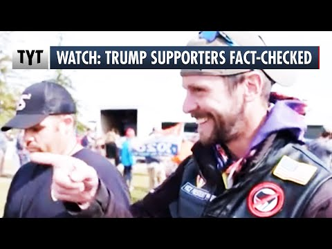 Trump Supporters React to Getting Fact Checked
