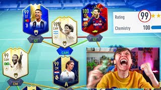 199 RATED!! GREATEST FUT DRAFT IN FIFA HISTORY! (FIFA 19)