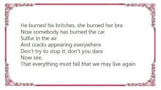 Charlotte Gainsbourg - Set Yourself on Fire Live Lyrics