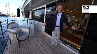 [ENG] SUPERYACHT 50m CRN LATONA   Yacht Tour And Interiors   The Boat Show