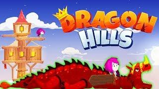 Dragon Hills Ручной ДРАКОН Принцессы Веселая игра как мультик для детей от Cool GAMES