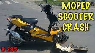 MOPED SCOOTER CRASH AND FAIL COMPILATION # 295